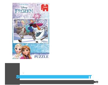 Jumbo Frozen puzzle aanbieding