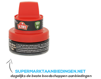 Kiwi Schoencrème zwart aanbieding