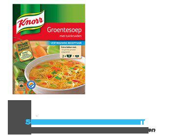Knorr Mix groentesoep aanbieding