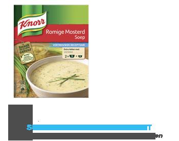 Knorr Mix romige mosterdsoep aanbieding