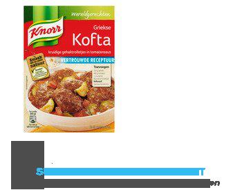 Knorr Wereldgerechten Griekse kofta aanbieding