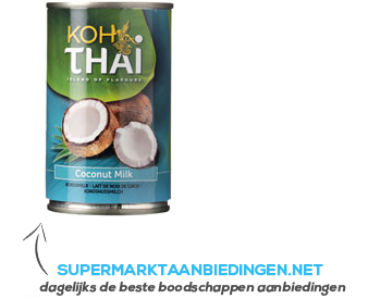 Koh Thai Coconut milk aanbieding