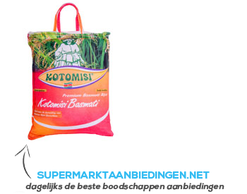 Kotomosi Basmati rijst aanbieding