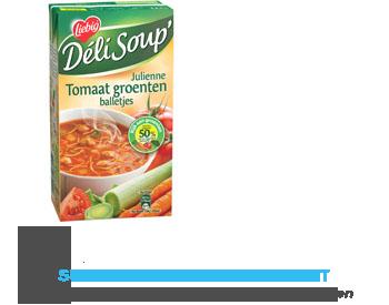 Liebig Deli Soup tomaat-groenten met balletjes aanbieding