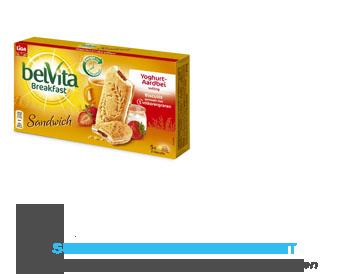 Liga Belvita breakfast sandwich aardbei