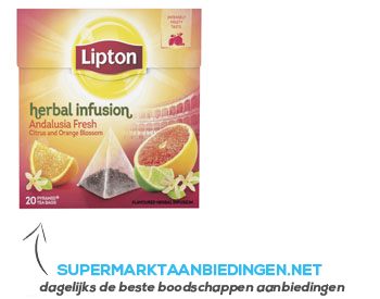 Lipton Thee herbal infusion Andalusia fresh