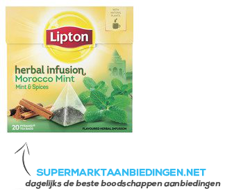 Lipton Thee herbal infusion Morocco mint