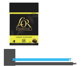 L'OR Espresso lungo elegante aanbieding