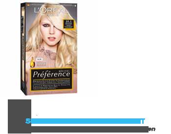 L'Oréal Récital Préférence 10.1 ex licht asblond aanbieding