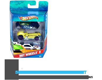 Mattel Hotwheels 3- pack (assorti) aanbieding