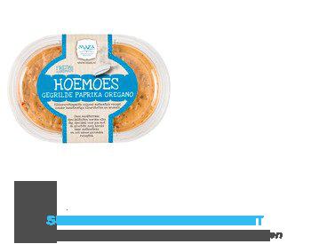 Maza Hoemoes gegrilde paprika met oregano