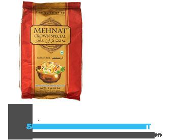Mehnat Basmati rijst aanbieding