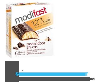 Modifast Snackrepen pure en witte chocolade aanbieding