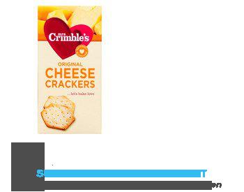 Mrs Crimbles Original cheese crackers glutenvrij