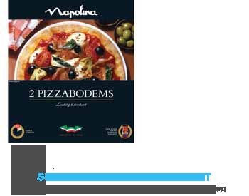 Napolina Pizzabodem aanbieding