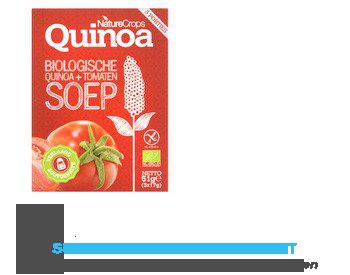 Nature Crops Quinoa tomato soup bio aanbieding