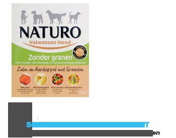 Naturo Zalm en aardappel voor de hond aanbieding