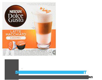 Nescafé Dolce Gusto caramel macchiato (8 kopjes) aanbieding
