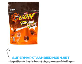Nestlé Lion pop choc aanbieding
