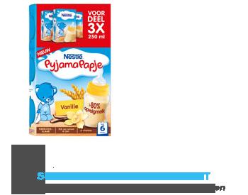 Nestlé Pyjamapapje vanille gebruiksklaar 6 mnd aanbieding