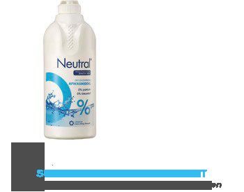 Neutral Afwasmiddel parfumvrij aanbieding