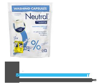 Neutral Wasmiddel capsules wit parfumvrij aanbieding