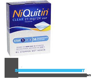 Niquitin Clear nr. 1 aanbieding