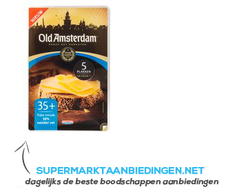 Old Amsterdam Gouda oud 35 plakken