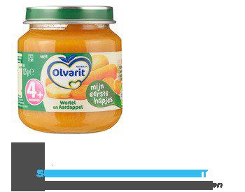 Olvarit Aardappel/ wortel 4 mnd aanbieding