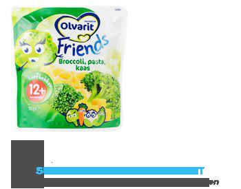 Olvarit Friends broccoli pasta kaas 12 mnd aanbieding
