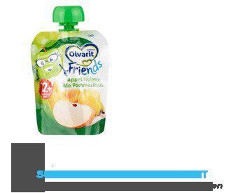 Olvarit Friends knijpzakje appel/ fruitmoes aanbieding