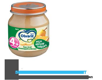 Olvarit Peer/ druif/ sinaasappel/ banaan 4 mnd aanbieding