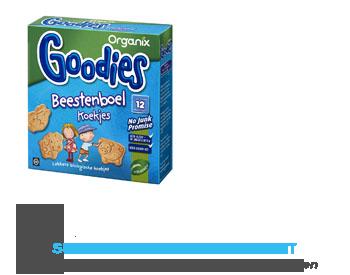 Organix Goodies beestenboel koekjes 12 mnd aanbieding