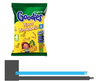 Organix Goodies kaasknabbels 12 mnd aanbieding