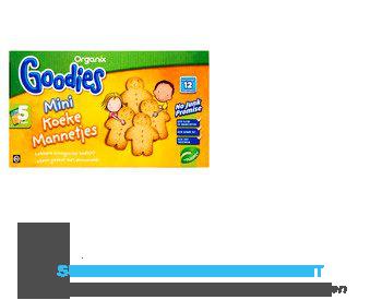 Organix Goodies mini koeke mannetjes aanbieding