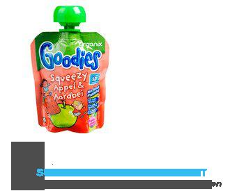 Organix Goodies squeezy appel/ aardbei aanbieding