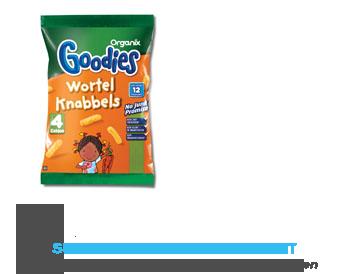 Organix Goodies wortelknabbels 12 mnd aanbieding
