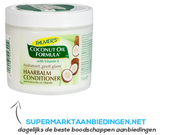 Palmer's Conditioner coconut oil aanbieding