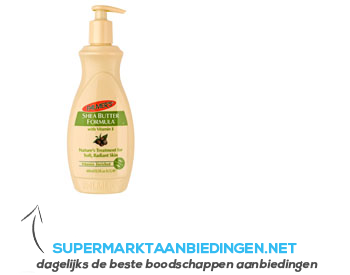 Palmer's Shea butter formula concentrated cream aanbieding