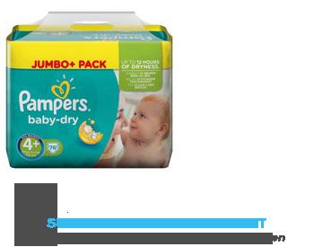 Pampers Baby dry jumbo plus pack maxi aanbieding