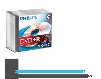 Philips DVDR slimcase aanbieding