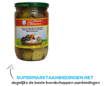 Pickled mixed vegetables aanbieding
