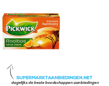 Pickwick Rooibos citrusvruchten 1-kops