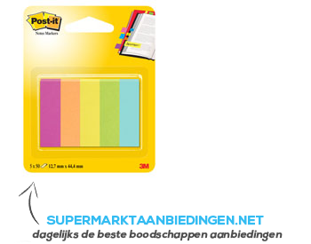 Post-it Notes markers aanbieding