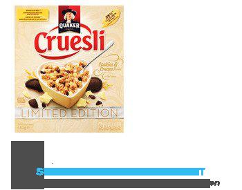 Quaker Cruesli cookies & cream limited edition