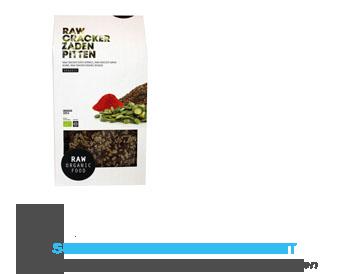 Raw Organic Food Cracker zaden-pitten