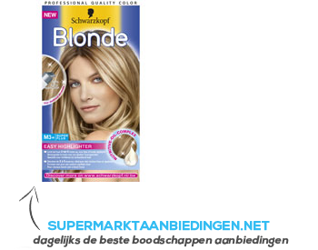 Schwarzkopf Blonde M3 superplus easy highlighter aanbieding
