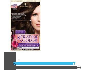 Schwarzkopf Keratine color 4.0 donkerbruin aanbieding