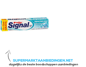 Signal Protection caries white aanbieding