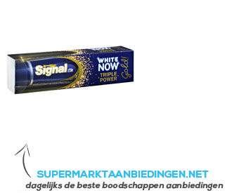 Signal White now gold aanbieding